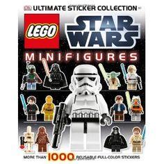 Lego Star Wars Mini-figure Ultimate Sticker Collection: Amazon.ca: Dorling Kindersley: Books