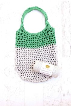 Finger Crochet Market Tote Bag Kit