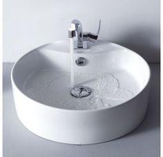 "View the Kraus C-KCV-142-15101 Bathroom Combo - 18-1/2"" Ceramic Vessel Bathroom Sink with Faucet, Pop-Up Drain at Build.com."