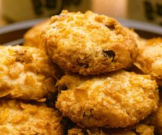 With plenty of crunch and a delightful burst of sweet sultanas, these cornflake cookies will be gone in no time!