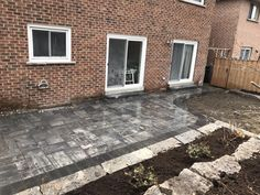 Backyard Patio Interlocking Installation by Action Home Services in Toronto