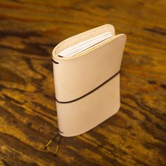 """This is the Quad Field Notes Leather Notebook Refillable Journal Cover.  It is designed to hold up to 4 Field Notes, Word. or Small Moleskine Cahier 3.5"""" x 5.5"""" notebook (not included)."""