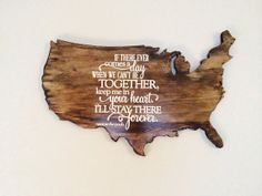 Handcrafted Dark Stained Wooden Map by YesDearBoutique on Etsy Wood World Map, Cant Be Together, Wooden Map, Dark Stains, Moose Art, Travel Goals, Unique Jewelry, Handmade Gifts, Decorating