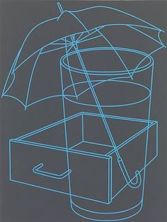 Work Pages — Michael Craig-Martin Michael Craig, Object Photography, Gcse Art, Through The Looking Glass, Everyday Objects, Magazine Art, Life Tattoos, Line Drawing, Sculpture Art