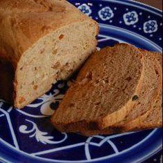 Kaneelbrood uit de broodbakmachine