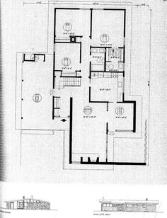Usonian House, Mansard Roof, Suburban House, Dormer Windows, Gambrel, Good House, Best House Plans, Flat Roof, Facade
