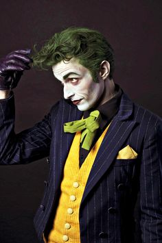 Seriously the best cosplay of the joker ever.