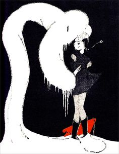 """Katherine Beverley y Elizabeth Ellender, ilustraciones de """"La Reina de las Nieves"""", 1929. http://www.yekibud.es/2013/11/27/los-cuentos-de-hans-christian-andersen/"""