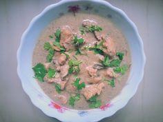 Kunjaminas Recipes: Chicken white kuruma curry  recipe | white chicken gravy recipe