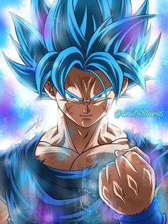 #dragonball #goku #son #ssj #blue Dragon Ball Z, Dragon Ball Image, Dragonball Z Cake, Black Lagoon Anime, Star Wars History, Zamasu Black, Ball Drawing, Fanart, Digimon