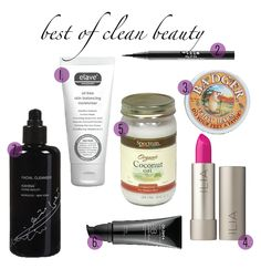 best beauty products 2014 | best of clean beauty | The Blonde Bargain