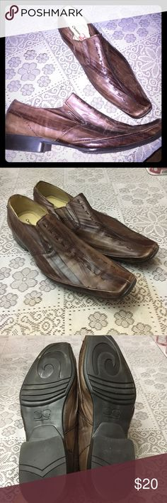 Men's shoes Christian gallery men's modern European  never used....brand new made of real 100% leather Shoes Loafers & Slip-Ons