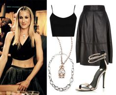 Carrie Bradshaw Inspired Outfits - Sex and the City Outfit Ideas - Cosmopolitan.