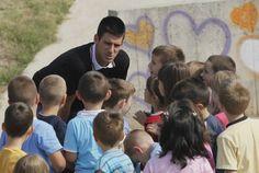 Novak Djokovic Inspiring People, Athletes, Famous People, Foundation, Events, Dance, Couple Photos, Sports, Dancing