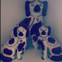 My staffordshire dogs