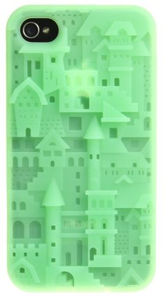 GREEN CASTLE IPHONE 4/4S CASE (PRE-ORDER). - ACCESSORIES