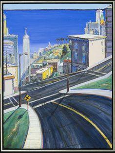 Wayne Tiebaud - Ocean City, http://smofa.org/exhibitions/exhibition_details.html?exhibition_id=19=Wayne_Thiebaud:_70_Years_of_Painting