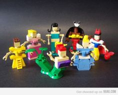 lego disney. I thought it would be cool but it's really just creepy. Look at the hands