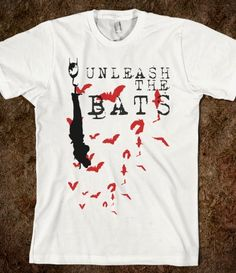 """unleash the bats"" -- MY CHEMICAL ROMANCE tee"
