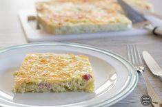 De keuken van Martine: Carbonara-quiche met prei
