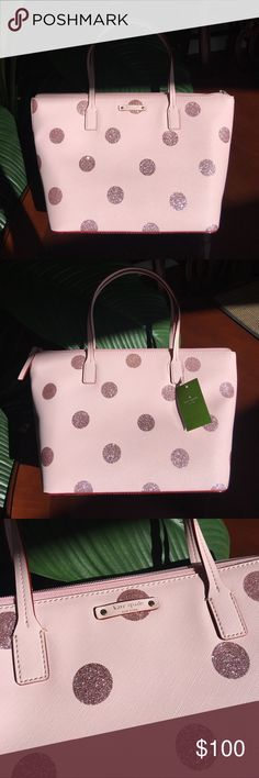 KATE SPADE NWT for REYNA!  ✨ Price Firm ✨ I purchased this beautiful new PINK bag at my local Kate Spade boutique to benefit Reyna, a young mom of 3 battling breast cancer. PLEASE consider helping her either through purchasing this glam bag - % of my proceeds will be donated to her; or consider donating on her Go Fund Me page. Search Reyna Lucero Castellanos. Her double mastectomy surgery was yesterday, February 24 and she's doing well.  I'm hoping our Posh community can help support her…