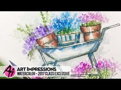Art Impressions Blog: NEW VIDEO - 2017 Watercolor Class Exclusive at Retail Shows!