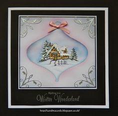 Sandma's Handmade Cards: Inkylicious Winter Lodge