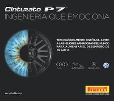 El CINTURATO™ P7™ es la opción perfecta para aquellos conductores que buscan un neumático de altas prestaciones y mínimo impacto medioambiental para su turismo de potencia media o alta. También disponible en versión Run Flat