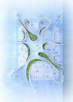 Fitness Design Architecture 57 Ideas For 2019 Landscape Model, Landscape Architecture Design, Garden Landscape Design, School Architecture, Architecture Plan, Landscaping Design, Architecture Diagrams, Landscape Fabric, Landscape Designs