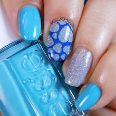 Mama Hearts Polish: April 2016 Mani Swap with on IG featuring Essie In the Cab-ana and UberChic stamping plates. Stamping Plates, Nail Stamping, Girly Things, Girly Stuff, Cute Nail Designs, Nail Tutorials, Gorgeous Nails, Nail Arts, Cute Nails
