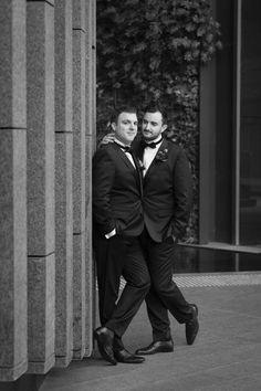 Luke & Joel's wedding at Lamont's Bishops House