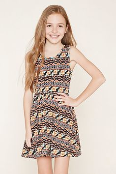 Girls Tribal Print Dress (Kids)