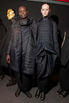 Rick Owens - Fall 2015 Ready-to-Wear - Look 62 of 74