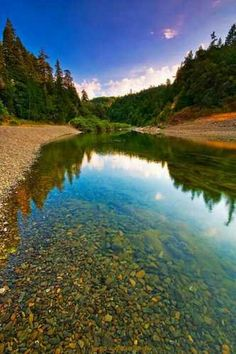 This place is one of the most beautiful places I have ever seen.  Eel River in Humboldt County, CA