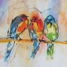 Linker dwerg papegaaien
