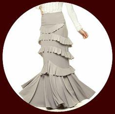 Simone flamenco skirt Flamenco Costume, Flamenco Skirt, Ballroom Costumes, Ballroom Dance, Cute Designs, Belly Dance, Boho, Sexy, Skirts
