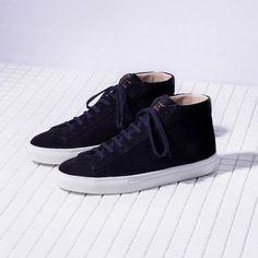f573aa904ea0 Zespa Aix-en-Provence Zespa ZSP5 Sneaker navy suede men Kinds Of Shoes