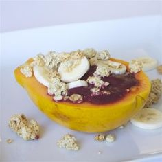 """Acai Papaya Bowl 