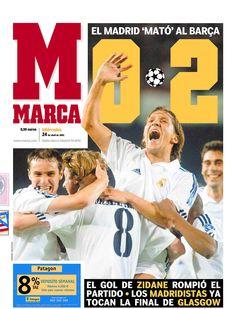 Mazazo del Real Madrid al Barça en la Champions