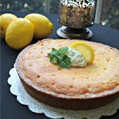 "Heavenly Lemon Cake | ""Minimal and inexpensive ingredients, minimal preparation time, easy, and tastes divine...it has to be heaven! Delicious moist lemon cake, perfect served hot with cream for dessert, or cold with coffee!"""