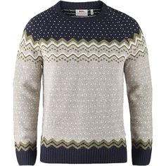 Fjallraven Ovik Knit Sweater – Men's – red knitting sweaters Nordic Pullover, Nordic Sweater, Ski Sweater, Cable Knit Jumper, Casual Sweaters, Wool Sweaters, Knitting Sweaters, Knitting Wool, Fjallraven