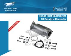 honda pilot catalytic converter cover