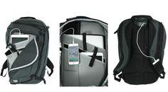 Tas canggih ini membuat penggunanya tak perlu kuatir gadget miliknya kehabisan daya.