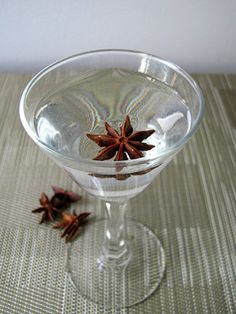 Smoked Anise  1/8 oz. Laphroaig 10-Year-Old   1/2 oz. Marie Brizard Anisette  2 oz. Sobieski vodka  Garnish: star anise   In a mixing glass, combine all ingredients and fill with ice.  Stir well for 15 seconds and julep-strain up into a chilled cocktail glass. Garnish with a floating star anise.  Created by H. Joseph Ehrmann, Elixir San Francisco   - MarieClaire.com