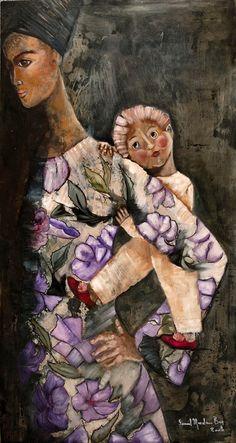 Syria Art - Souad Mardam Bey
