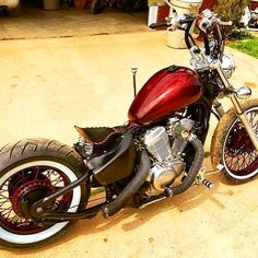 """@_andrewrubio_ dope shadow 600 VLX #bobber #chopper #kustomkulture #barhopper #bnc4life #bncfam #loudpipes #bobbersnchoppers…"""