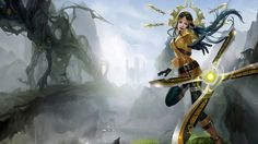 sivir skin splash chinese art league of legends