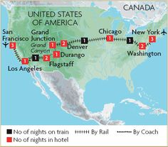 In Aug Keith and I embarked on the trip of a lifetime! We travelled from New York City to San Fransisco over weeks. We travelled on the American Amtrak overnighter trains! We took an org… Train Travel, Train Trip, Us Travel, Grand 1, San Fransisco, Road Trip, Coast, Chicago, United States