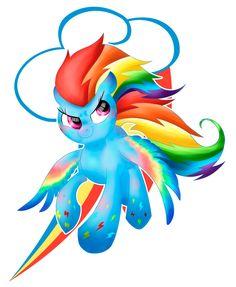 Rainbow Dash Rainbow power by allocen.deviantart.com on @DeviantArt