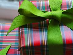 {holiday plaid paper}